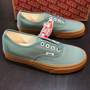 Vans Authentic Duck Green Gum